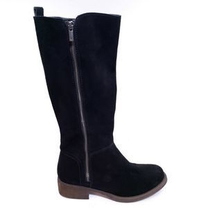 Lucky Brand | Desdie tall black suede boots